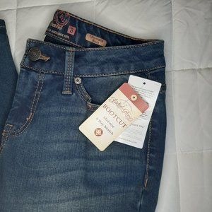 NWT Faded Glory Bootcut Jeans 8